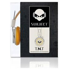 Subjekt Subjekt TNT-QM1123 Headphones - Cranium - White/Yellow