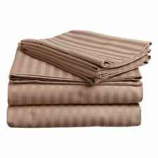 luxor egyptian cotton striped sheets u0026 pillowcases - Striped Sheets