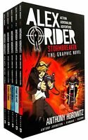 Alex Rider Collection 5 Books Set Collection -  Graphic Novels
