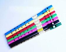 More details for tin whistle irish penny whistle d or c key, range of colours inc brass and black
