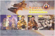 Guyana 2006 transbordador espacial Columbia 25th aniversario/cohete/transporte m/s n17157n