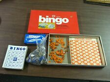 Vintage Bingo 1974 Whitman Board Game-Complete-Fun From The Yesteryears!