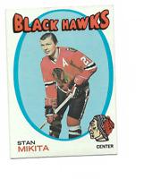 1971-72 Topps #125 Stan Mikita Chicago Blackhawks