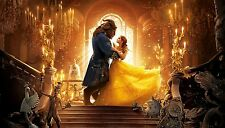 """DISNEY BEAUTY AND THE BEAST FANTASY MOVIE WALL ART CANVAS PICTURE PRINT 20X30"""""""