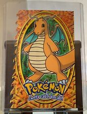 Topps Pokemon Evolution #149 Dragonite #12 Of 12 Embossed Die-Cut Card