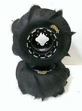 DWT Beadlock Rims ITP Sandstar Paddle Tires Rear Yamaha Raptor 700 660 350 250