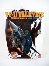 NEW Bandai 1/72 scale Macross VF-1J Max Jenius Sterling Super Valkyrie Robotech