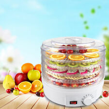 5 Tray Digital Food Dehydrator Electric Vegetable Fruit Dryer Tem Control Timer