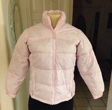 Steve & Barrys Double Down Coat Jacket Down Coat Girl's Size M Light Pink