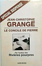 LITTERATURE SUSPENSE: Le Concile de Pierre, par Jean-Christophe GRANGE - 9851