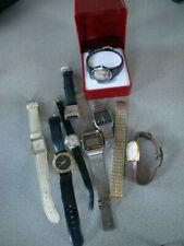 RS0519-119: Konvolut Armbanduhren Quartz verschieden