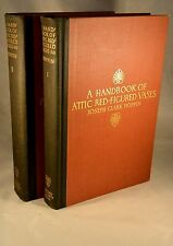 HANDBOOK of ATTIC RED-FIGURES VASES Potter Ceramic 1919