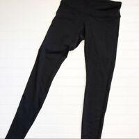 Lululemon Solid Black Leggings Size 4