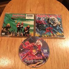 Iron Maiden - The Number Of The Beast CD 1995 Castle reissue metallica saxon