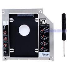 "2ND SATA HDD Hard Drive 2.5"" Caddy DVD Bay For Apple Macbook Pro Unibody laptop"