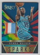 KEMBA WALKER Hornets 2014-15 Select SPARKS 4 Color Jersey Patch SP #03/25 Sick