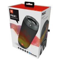 JBL Pulse 2 Portable Splashproof Bluetooth Speaker Light LED Black