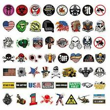 Funny Hard Hat Stickers Construction Electrician Helmet Military Tool Box Decals