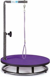Master Equipment Small Pet Grooming Table Purple Tables Dog Supplies Purple