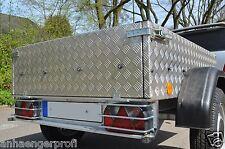 2 Lampenschutzgitter TPV Anhänger Rückleuchten 285x130 Multipoint Lampengitter