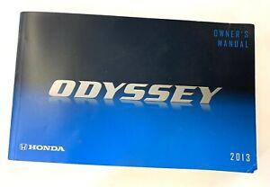 Genuine Honda Odyssey 2013 Owner's Manual - Owners Owner Guide