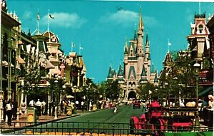 Vintage Postcard - 1970's Walt Disney Wold Bound For The World Fantasy #6083