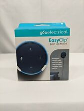 360 Electrical EasyClip Wall Mount for Amazon Echo Dot [2nd Generation] - White