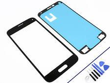 Cristal frontal para Samsung Galaxy Mini s5 negro vidrio display pantalla táctil nuevo & OVP