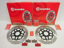 Brembo Bremsscheiben vorne + Bremsbeläge Suzuki GSXR 600 750 TL 1000 S K1 K2 K3