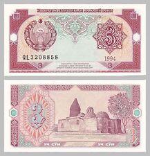 Usbekistan / Uzbekistan 3 Sum 1994 p74a unz.