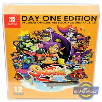 1 BOX PROTECTOR for Nintendo Switch Game Shantae Day One PQUBE 0.5m Plastic Case