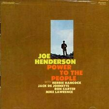 Joe Henderson - Power to the People [New CD] Rmst