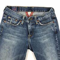 Lucky Brand Sweet N Low Bootcut Jeans Women's Sz 2/26 Blue Denim Medium Wash