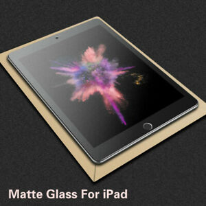 Frosted Matte Tempered Glass Screen Protector For Apple iPad Pro Air iPad Mini