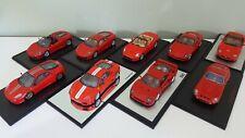 1:43 RedLine Spark Lotto 9 Ferrari 250 GTO 360 F40 F430 599 - No BBR, Minichamps
