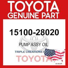 1510028020 GENUINE Toyota PUMP ASSY OIL 15100-28020 OEM