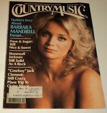 COUNTRY MUSIC MAG  SEPT.1978 /  BARBARA MANDRELL, STONEWALL JCKSON, DAVE & SUGAR