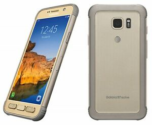 *Samsung Galaxy S7 Active 32gb Sandy Gold GSM Unlocked AT&T Android Discounted!