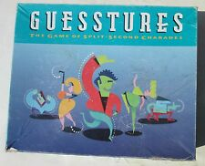 Guesstures Split Second Charade 1990 Milton Bradley Board Game Works Complete