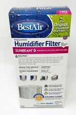 BestAir H62 Replacement Humidifier Filter With Chlora-Clear New Sunbeam