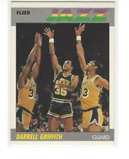 1987-88 FLEER BASKETBALL DARRELL GRIFFITH #46 OF 132 - UTAH JAZZ