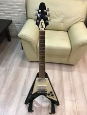 Gibson Flying v history 120 aged cherry Scorpions signed Ultra rare!