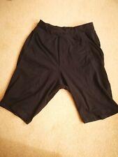 Men's Lululemon Sports Shorts Jogging Black Small Medium Good Condition