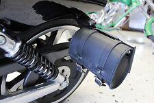 Harley V-Rod Dyna Softail Sportster SIDE LICENSE PLATE BAG - MT03 BAD&G CustomS