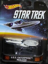 2014 HOTWHEELS - Retro entertainment A - STAR TREK USS Enterprise NCC-1701