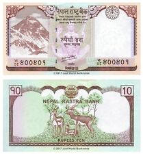 Nepal 10 Rupees 2012 P-70 Banknotes UNC