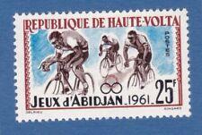 Alto Volta 1962 bicicletta bicycle bike sport MNH**og
