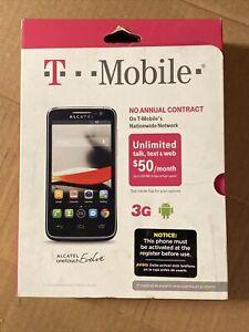 ALCATEL ONETOUCH Evolve -  - Black (T-Mobile) Smartphone