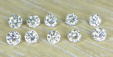 10pc Natural Loose Brilliant Cut Diamond 1.6mm I1 Clarity J Color Round for Sett