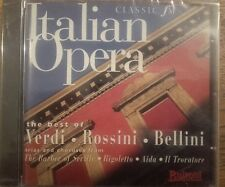 """Various """"Italian Opera"""" CD Classic Fm Promotional Issue Only  BRAND NEW & SEALED"""
